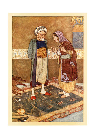 Stories from the Arabian Nights - Illustrated by Edmund Dulac