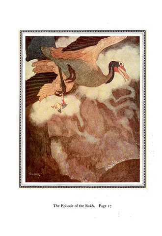 Sinbad the Sailor and Other Stories from the Arabian Nights - Illustrated by Edmund Dulac