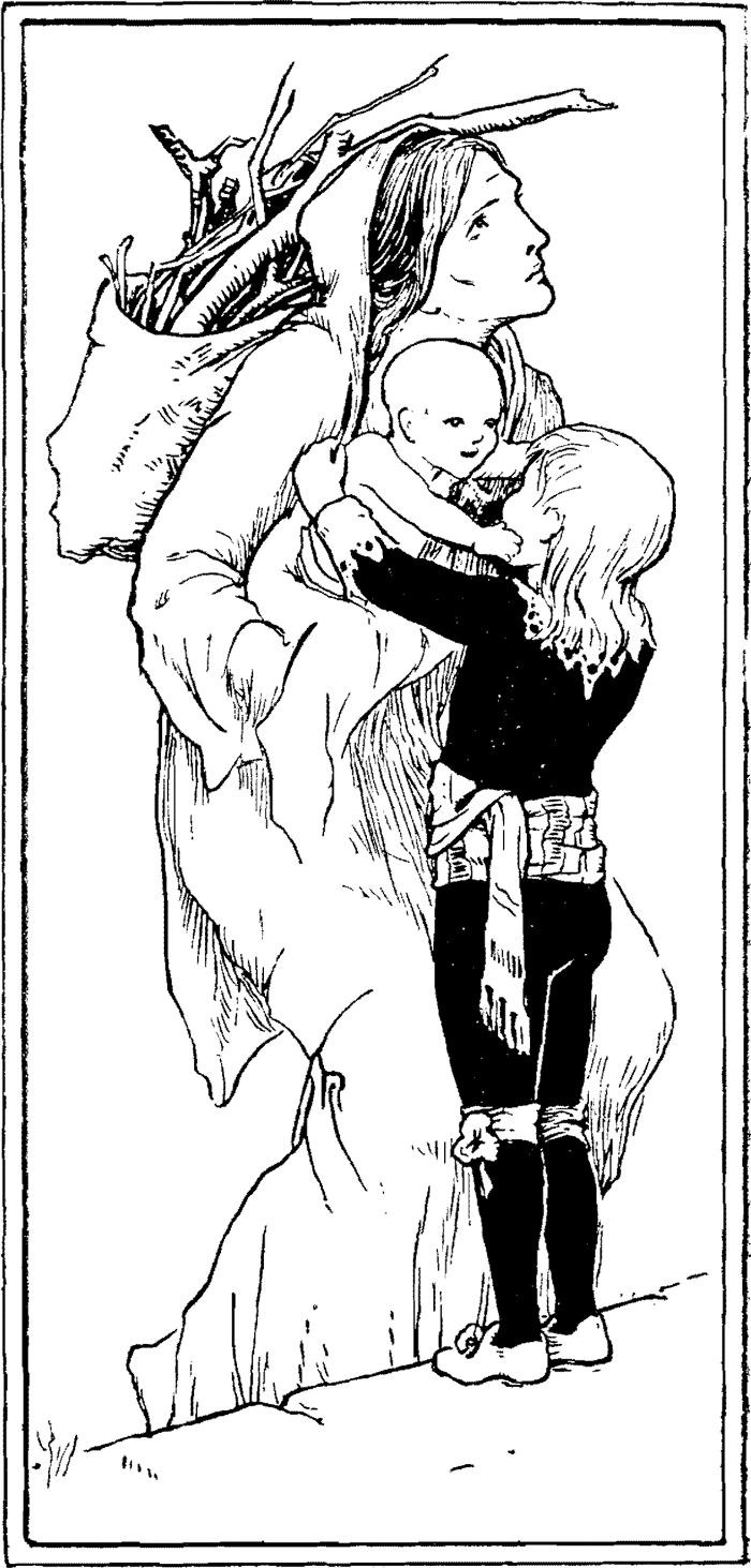 Catskin, English Fairy Tales, John D. Batten