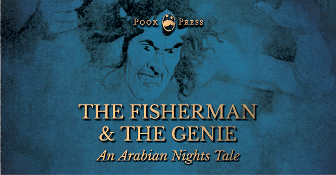Fisherman and the genie, arabian nights story