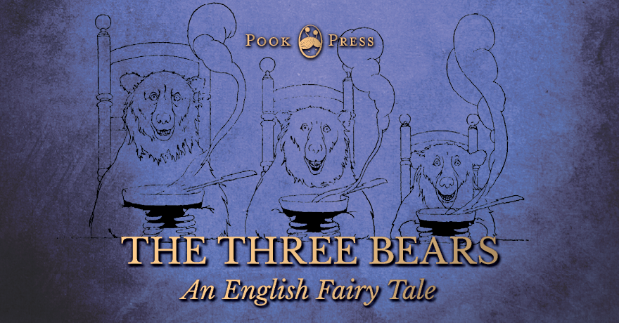 The three bears goldilocks story