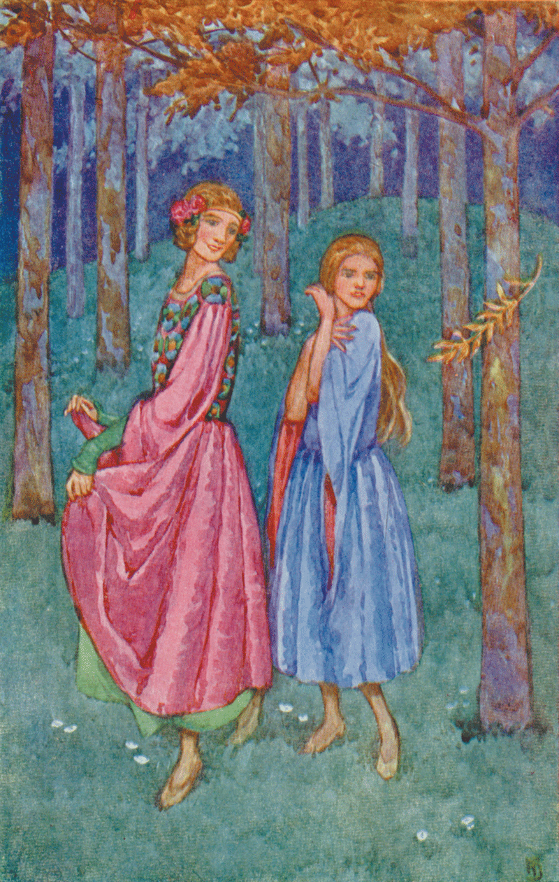 Grimm's Fairy Tales – With Many Illustrations by Helen Stratton