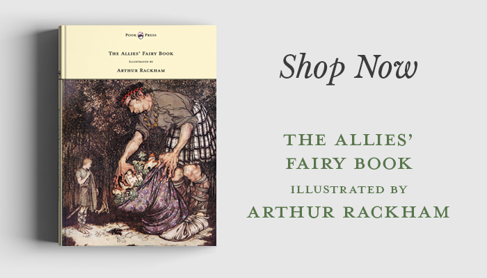 The allies Fairy Book by Arthur Rackham
