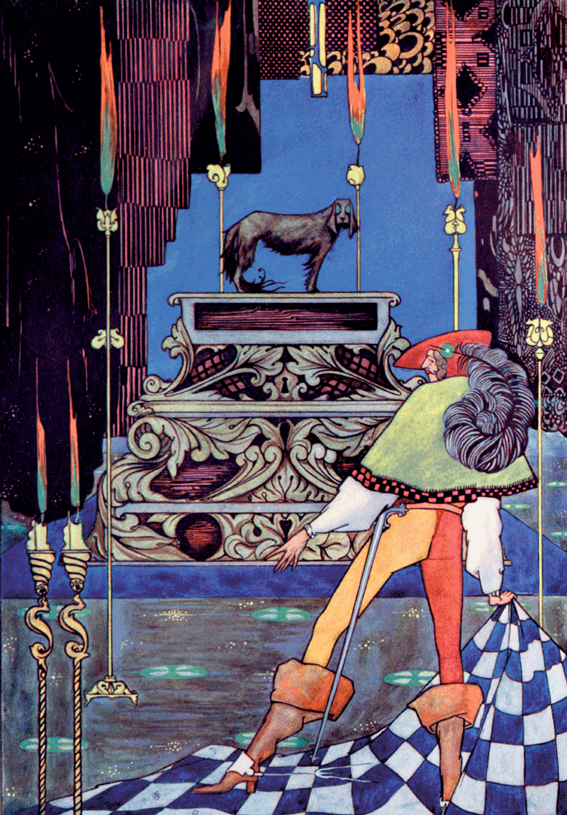 The Tinder-box illustrated by Harry Clarke