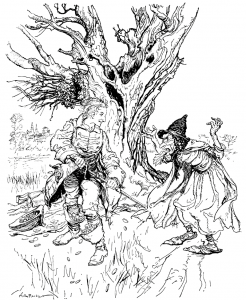 The Tinder-box by Arthur Rackham