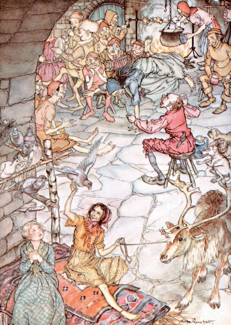 The Snow Queen by Arthur Rackham