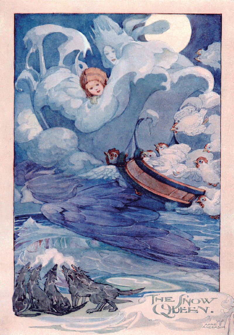 The Snow Queen by Anne Anderson