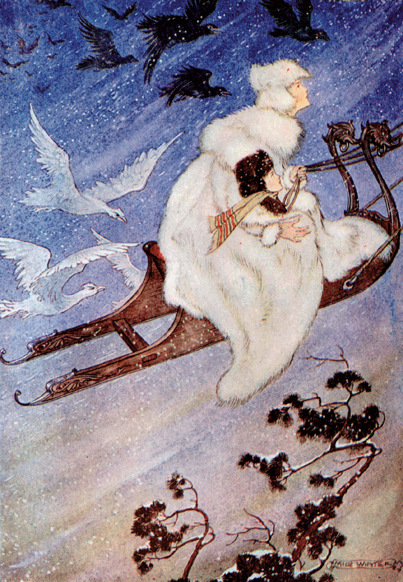 The Snow Queen by Milo Winter