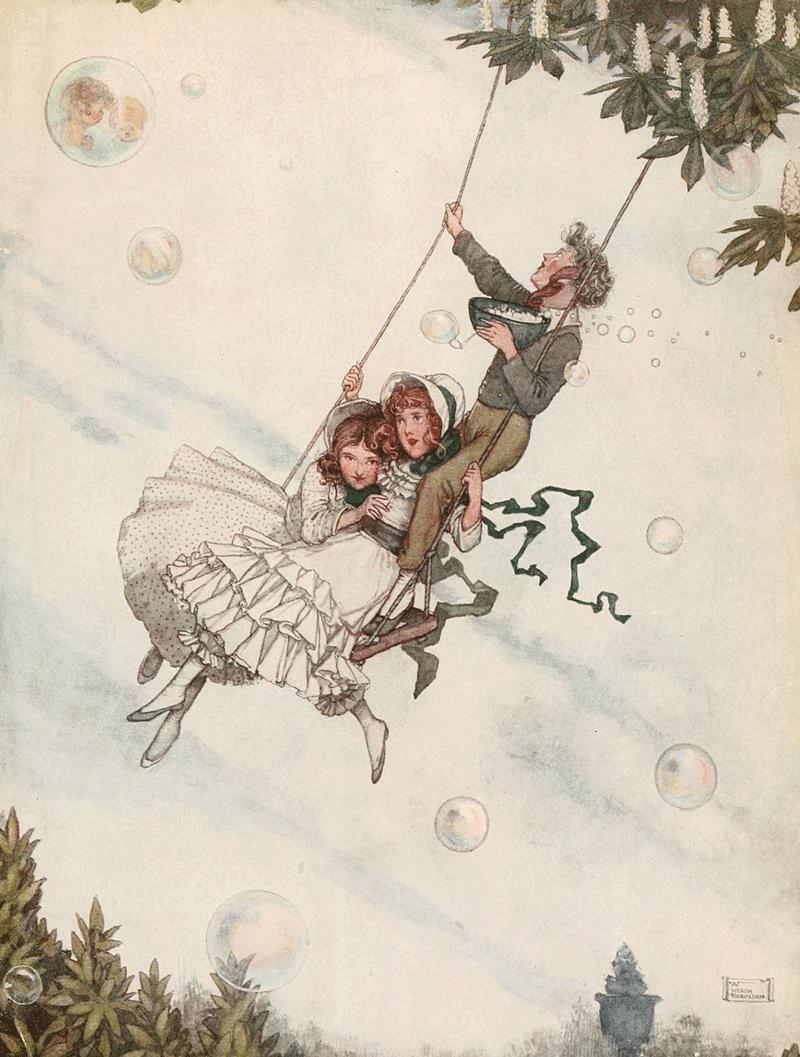 The Snow Queen by W. Heath Robinson