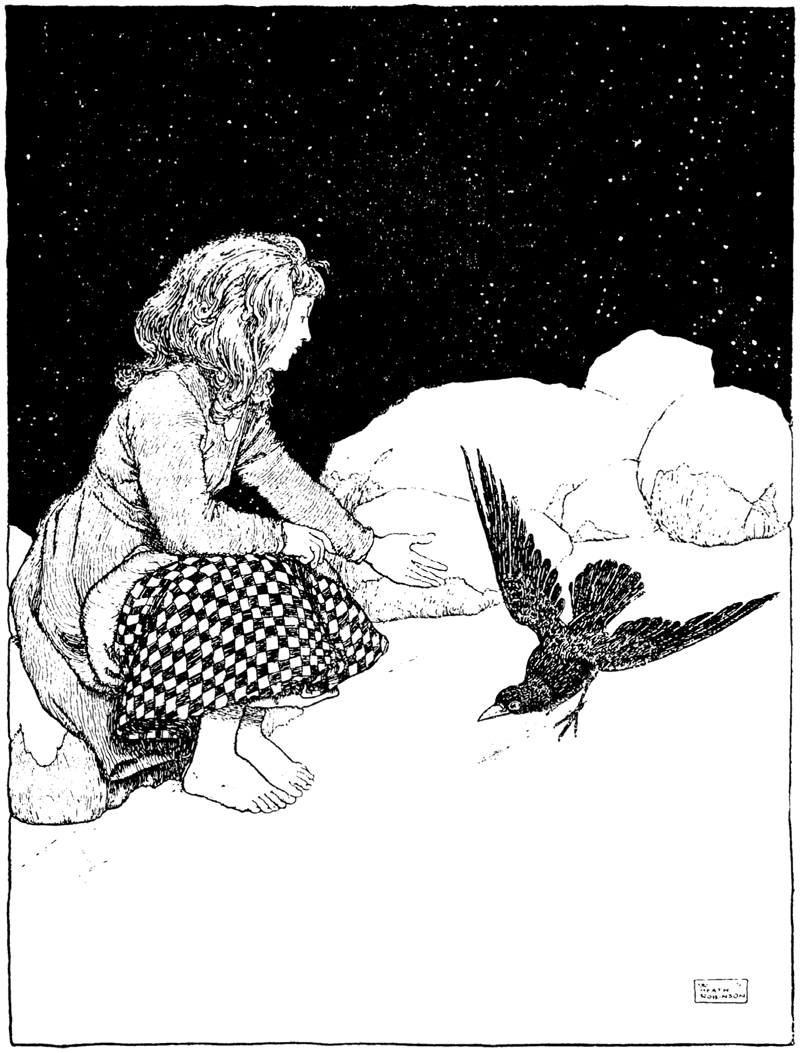 The Snow Queen by W. Heath RobinsonThe Snow Queen by W. Heath Robinson