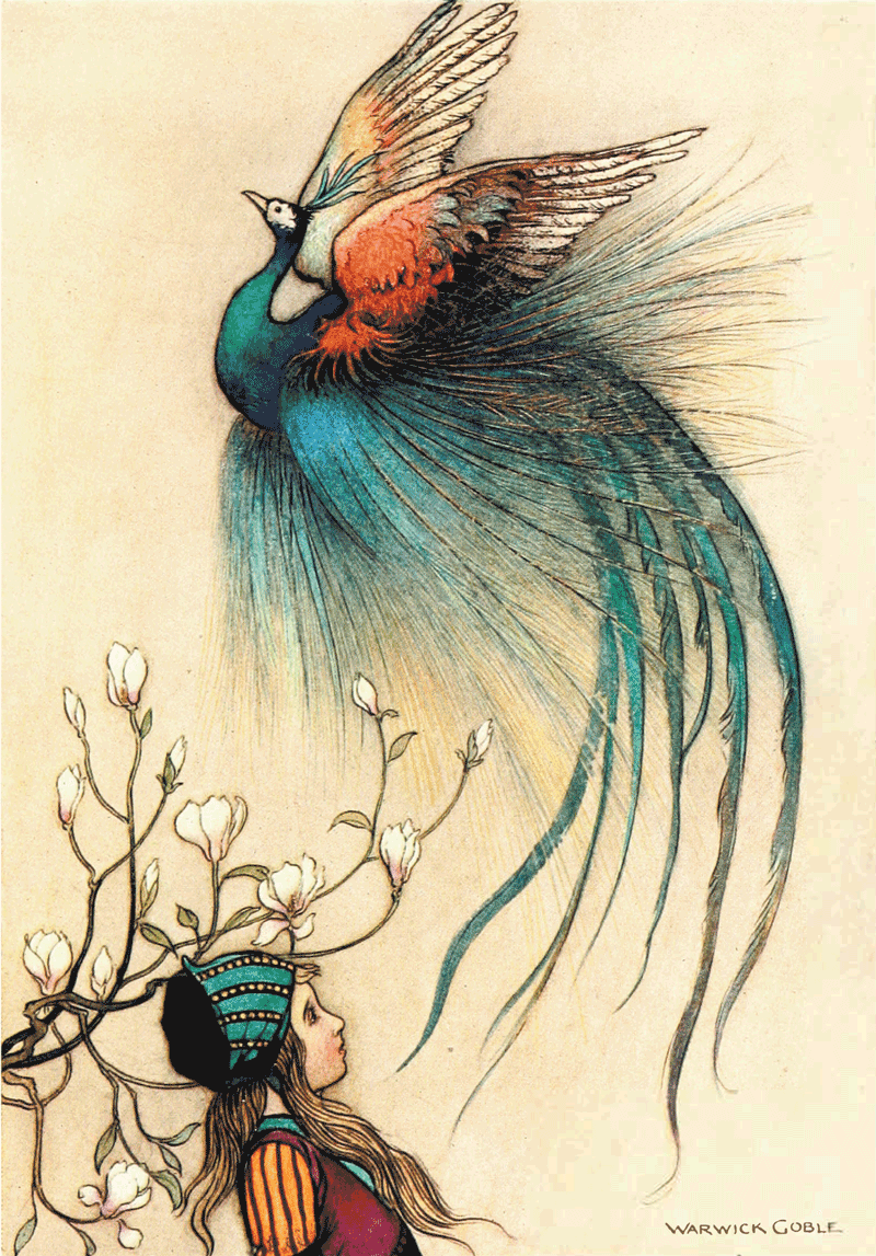 The Juniper-Tree by Warwick Goble