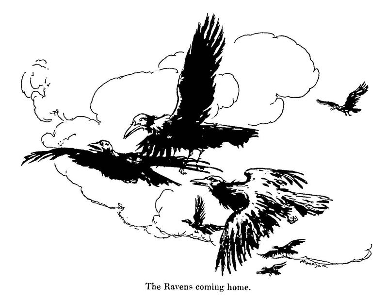 Seven Ravens Rackham