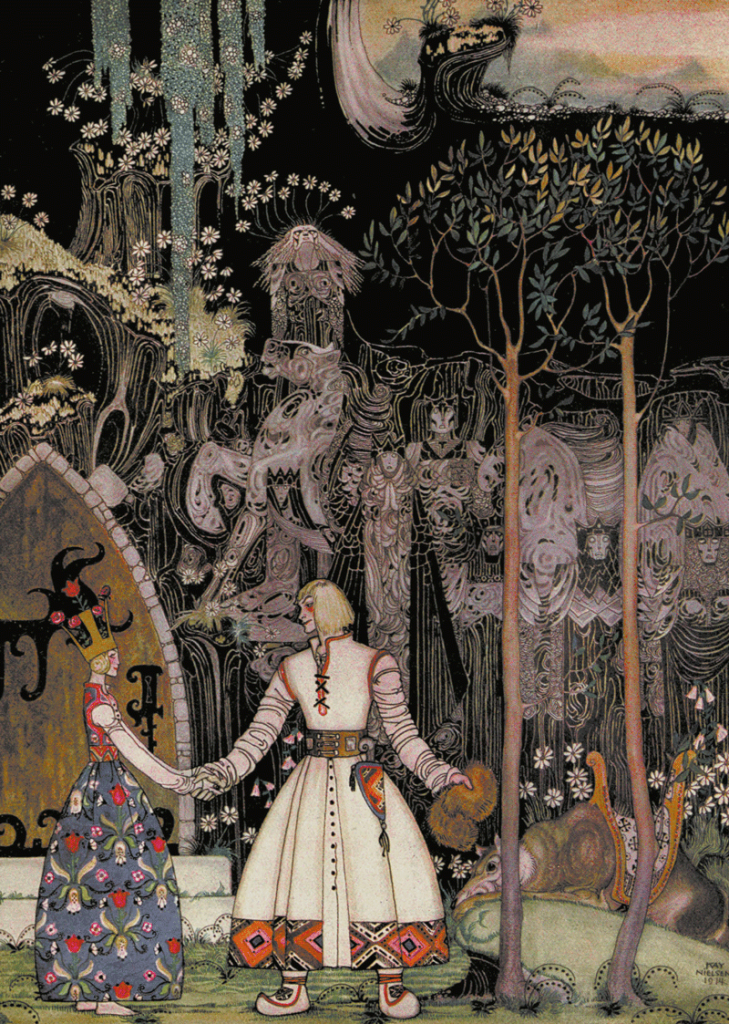 The Giant who had no Heart in his Body - illustrated by Kay Neilsen