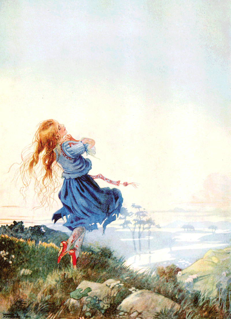 The Red Shoes illustrated by Honor C. Appleton