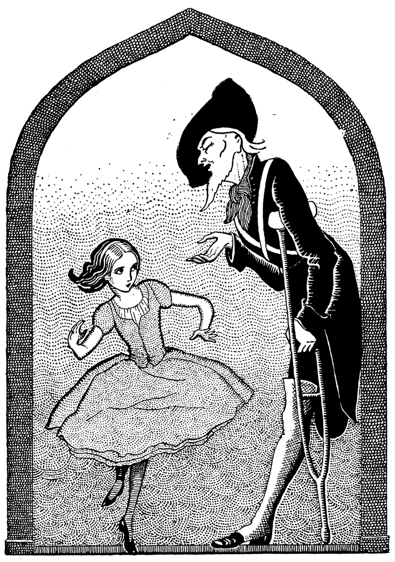 The Red Shoes illustrated by Jennie Harbour