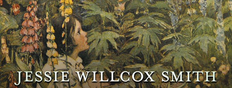 A Red Rose Girl – Jessie Willcox Smith
