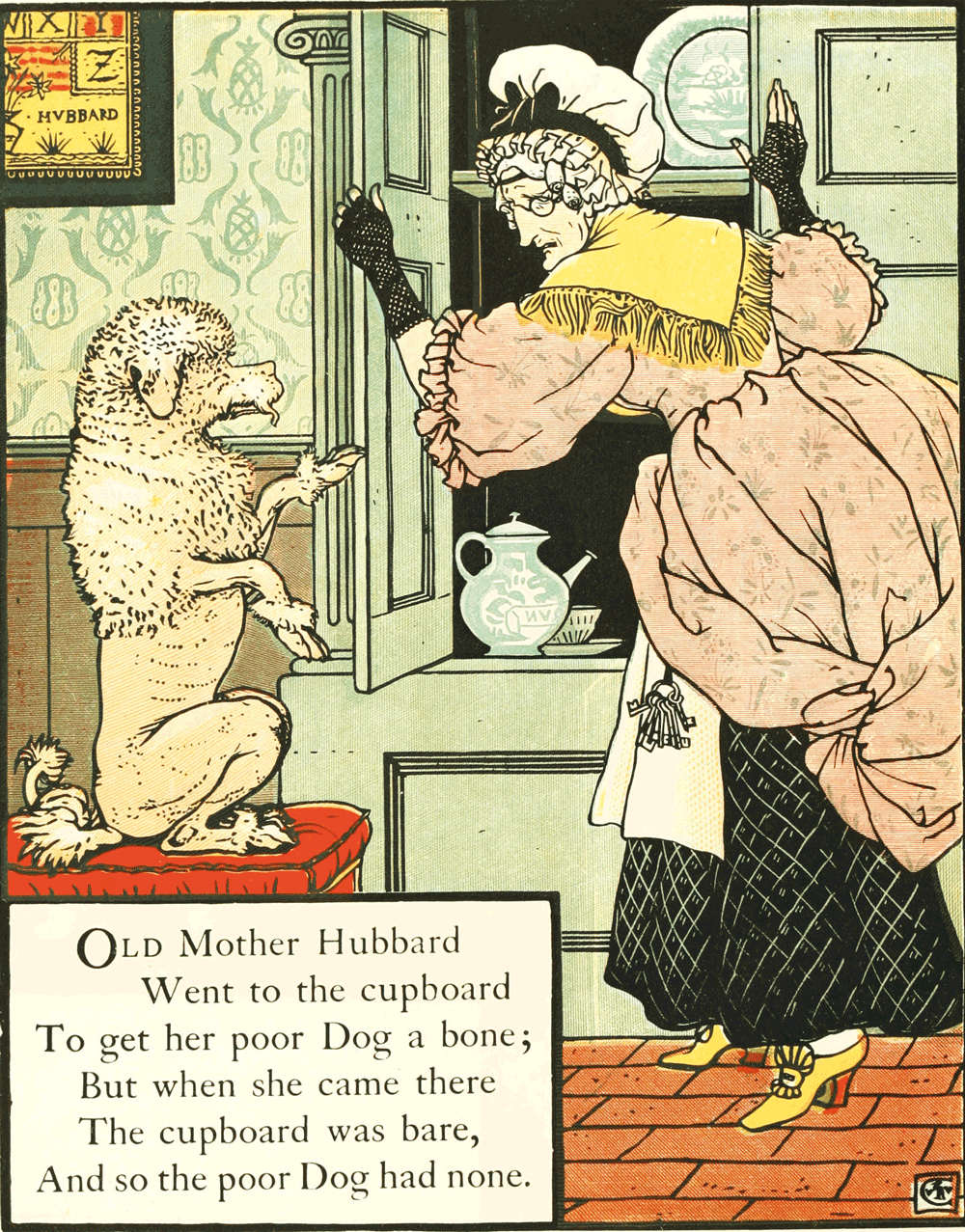 mother hubbard - children verse books - national poetry day