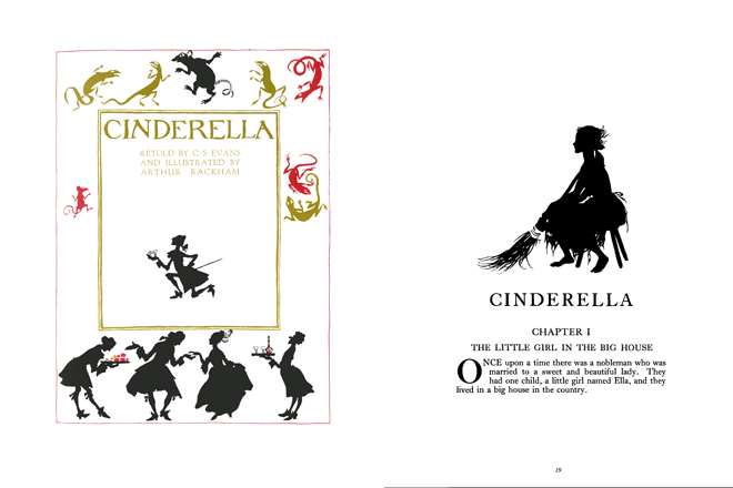 Cinderella and The Sleeping Beauty - Inside the book