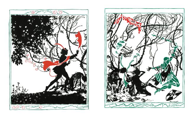 Cinderella and The Sleeping Beauty - inside the book (sleeping beauty)