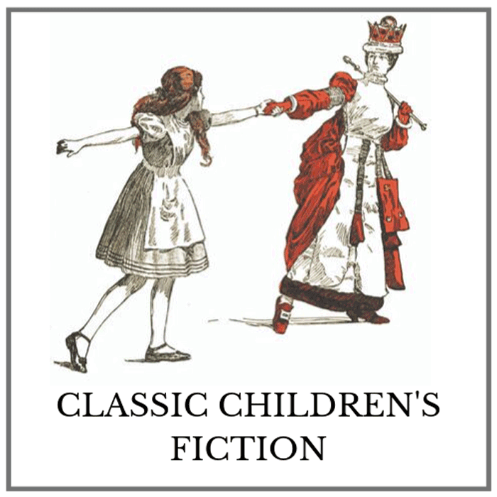 Classic Children's Fiction Category Button