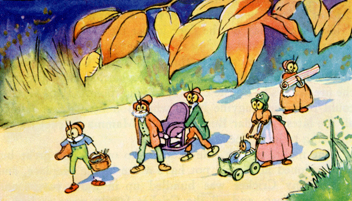 How Johnny Cricket saw Santa Claus - a Christmas story