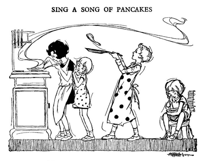 Sing a Song of Pancakes – A Poem for Pancake Day
