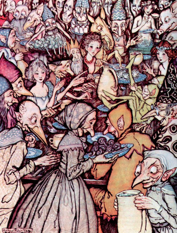 Fairy Tales of Hans Christian Andersen - Illustrated by Arthur Rackham